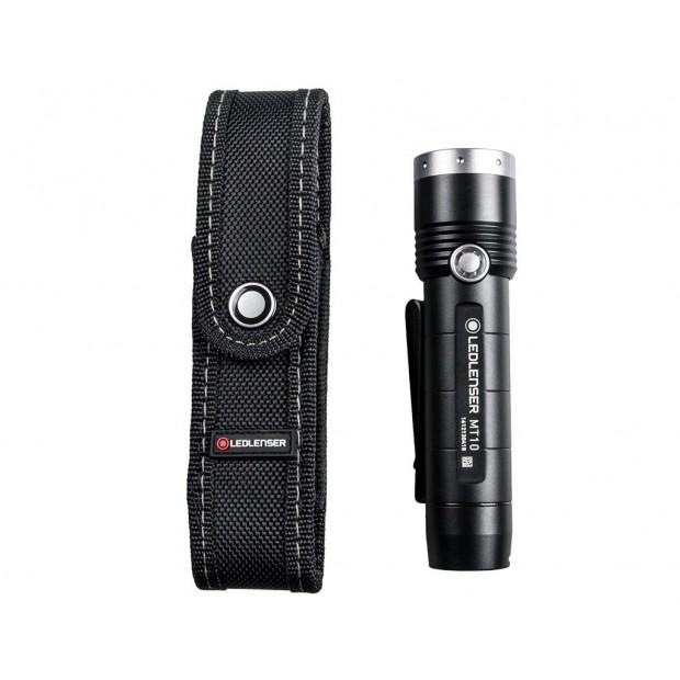 Linterna Led Lenser MT10, 1000 Lúmenes y Recargable