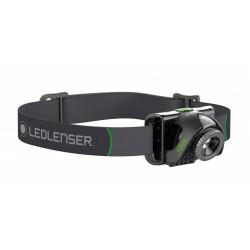 Lanterna de cabeça Led Lens MH6, 200 Lúmens e Recarregável