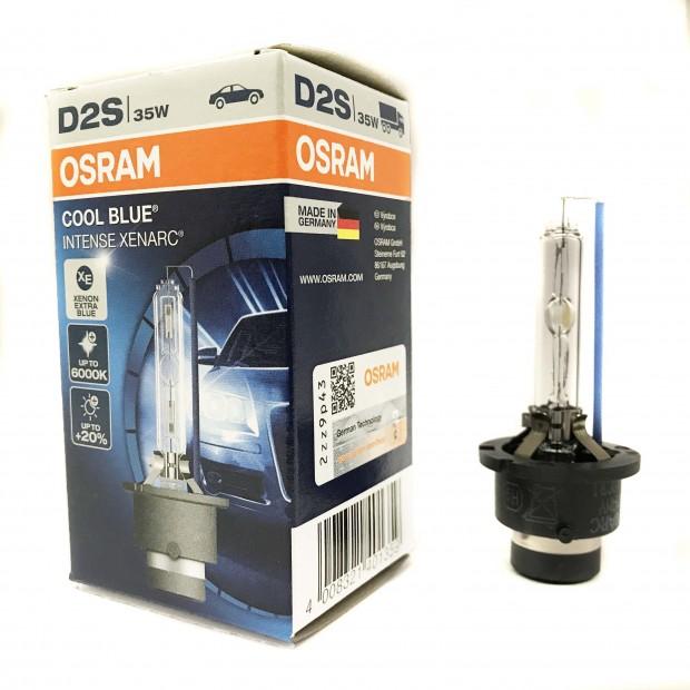 Lâmpada Xenon D2S Osram Cool Blue Intense