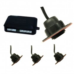 Kit, parksensoren verstellbar (4 sensoren)