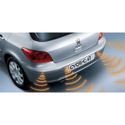 Kit sensores de aparcamiento regulables (4 sensores)