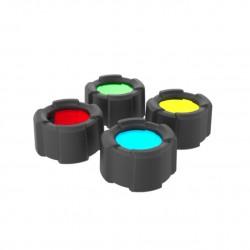 Filtros de cores para Lanternas diodo Emissor de luz Lens
