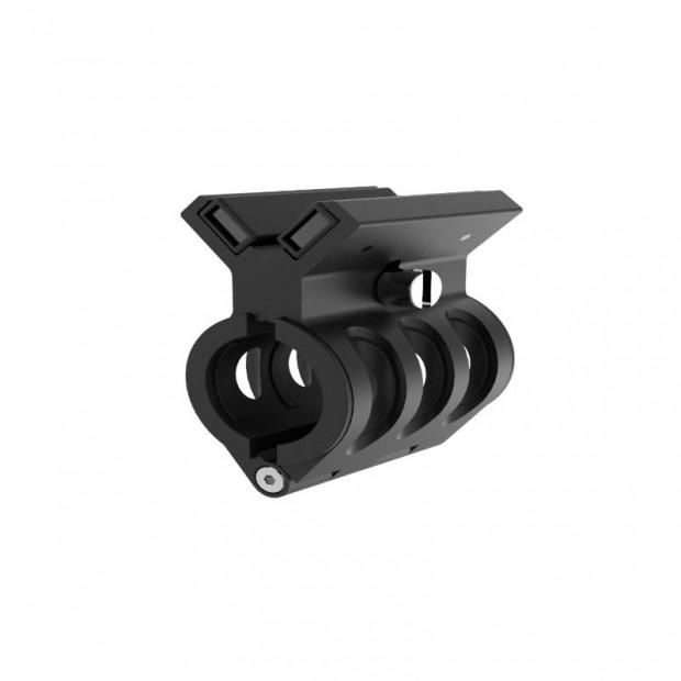 Adaptateur magnétique pour une arme (valable pour les lampes de poche LED LENSER)