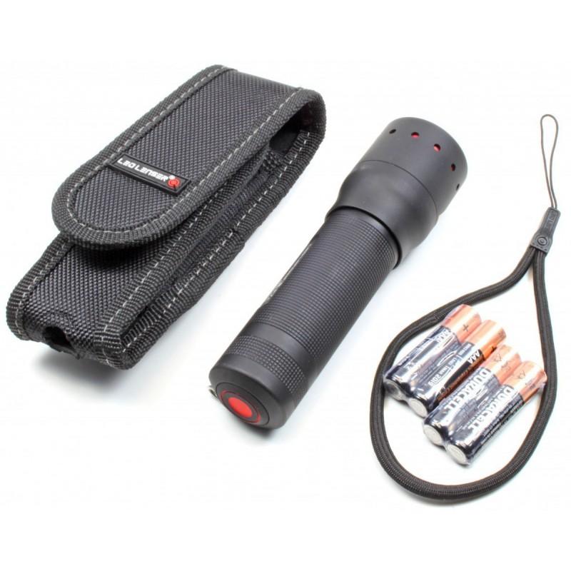 kit hunting led flashlight lenser p7 2 320 lumens audioledcar. Black Bedroom Furniture Sets. Home Design Ideas