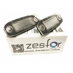 Plafones LED de matrícula para Volvo C30, S40, S60, S80, V70 y XC