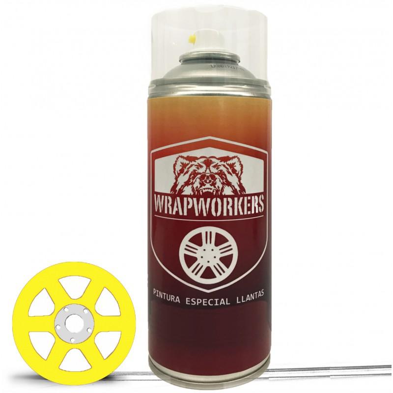 Spray pintura coche amarilla wrapworkers - Spray pintura acrilica ...