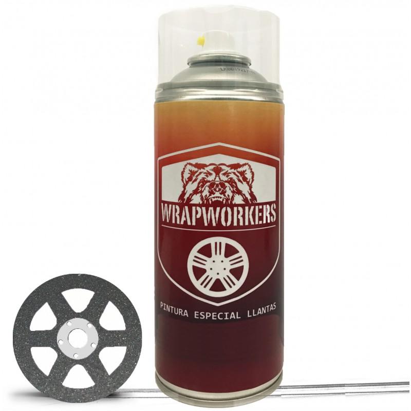 Spray pintura coche gun metal wrapworkers - Pintura en spray para coches ...