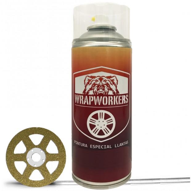 Spray Auto Lack Gold Metallic
