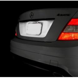 Leds matrícula Mercedes Benz Classe SLK E CLK ML C w210 w211 w212 w202 w203 w204 w208 w209 w163 w16