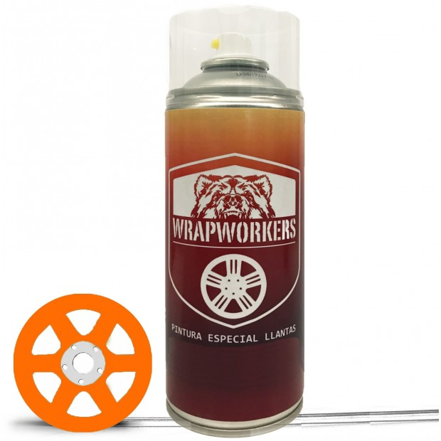 Spray Auto Lack Orange Neon