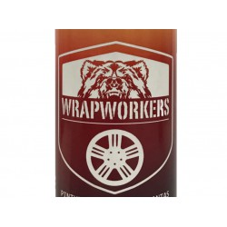 Kit, painted rims red fluoride (gloss or matte) - WrapWorkers