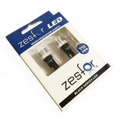 Ampoules LED Blanc diamant W5W/T10 - ZesfOr Série Noire