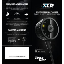 racechip electronic pedal xlr audioledcar. Black Bedroom Furniture Sets. Home Design Ideas