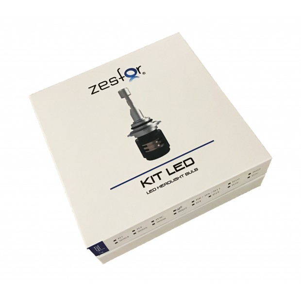 Kit diodo EMISSOR de luz branco diamante H7 - ZesfOr