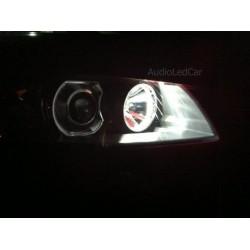 Paar LED-lampen canbus für position vorne w5w / t10