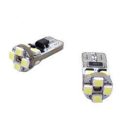 Couple of LED bulbs canbus for front position w5w / t10