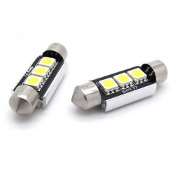 Couple of LED bulbs canbus for tuition festoon / c5w
