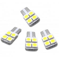 Kit LED-lampen für türen w5w / t10