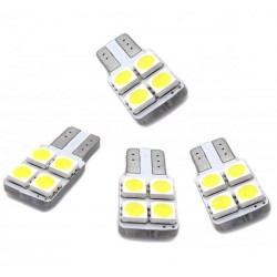 Kit of LED bulbs for the doors w5w / t10