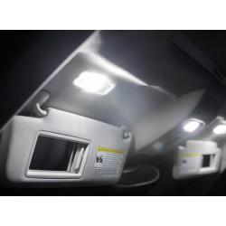 Coppia di lampadine a LED per la visiera parasole c5w / festone
