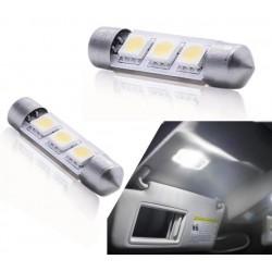 Par de lâmpadas de LED para guarda-chuvas c5w / festoon