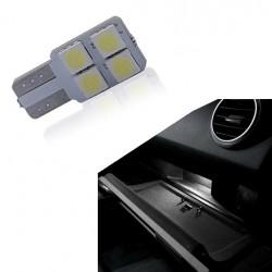 Bulbo claro do diodo EMISSOR de luz para o porta-luvas W5W / T10