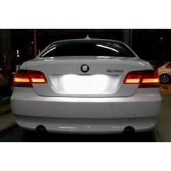 Painéis LED de matrícula BMW Série 3 E90 / E91 / E92 / E93 (2005-2014)