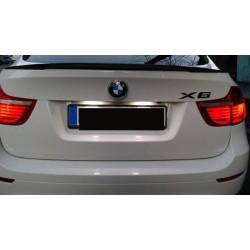 La retombée de plafond de LED d'immatriculation pour BMW X5 E70 et X6 E71 (2006-2014)