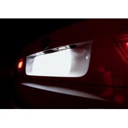 Candeeiros de matrícula diodo EMISSOR de luz Ford Fiesta MK VI (2009-2014)