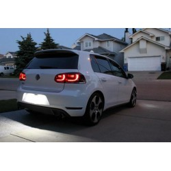 Wand-und deckenlampen LED kennzeichenbeleuchtung für Volkswagen Scirocco (2007-2014)