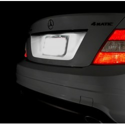 Plafones LED de matrícula Mercedes-Benz Clase E C207 (2010-2014)