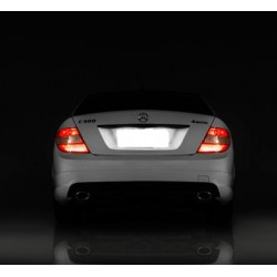 Painéis LED de matrícula Mercedes-Benz Classe CLS W211 (2003-2009)