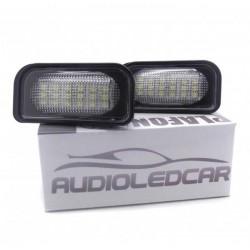 Plafones LED de matrícula Mercedes-Benz Clase CLS W211 (2003-2009)