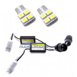 Lâmpadas de led e cancelamento de matrícula diodo EMISSOR de luz para Volkswagen Golf 6 (2008-2012)