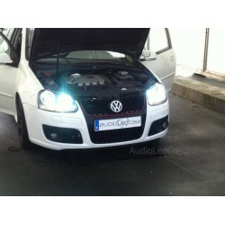 Kit xenon Volkswagen Golf Scirocco Eos Passat Polo Touareg Touran Transporter und Caddy + Adapter