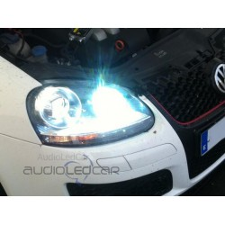 Kit xenon Volkswagen Golf Scirocco Eos Passat Polo Touareg Touran Transporter y Jetta + Adaptadores