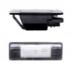 Plafones LED de matrícula para CITROEN - Tipo 2