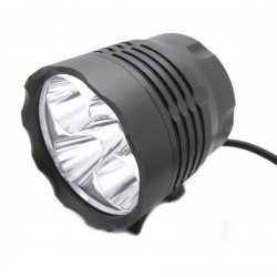 Anteriore e Focus bike LED 6000 LM - Tipo 7