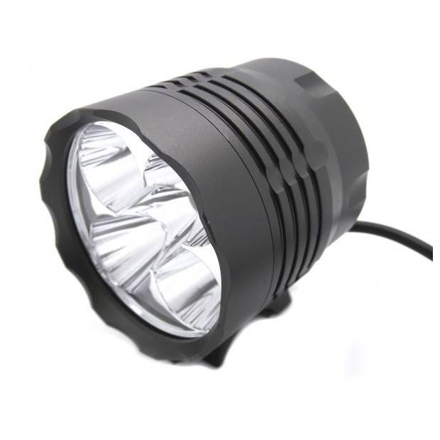 Frontal y Foco de bici LED de 6000 LM - Tipo 7