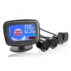 Sensori di parcheggio posteriori acustici con display