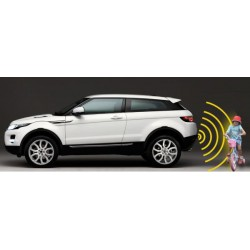 Rear parking sensors acoustic with display