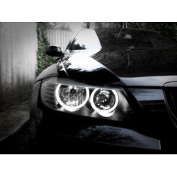 Kit ojos de angel en LED 20W para BMW E90 / E91 LCI - Tipo 9