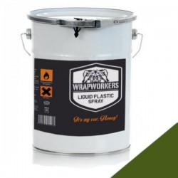 La peinture de vinyle liquide militaire Vert kaki (4 litres)