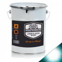 Pintura de vinilo líquido Transparente Brillo (4 litros)