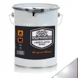 La peinture de vinyle liquide Blanc Perle (4 litres)