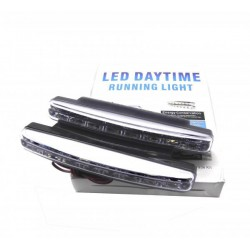 Lights daytime running day LED elongated - Type 1