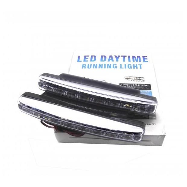 Lights daytime running day LED elongated - Type 1