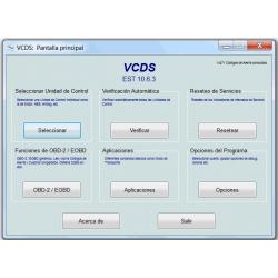 Vag Com Hex-Net Spanish