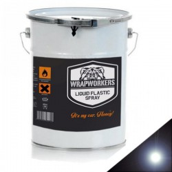 La peinture de vinyle liquide Noir Brillant (4 litres)