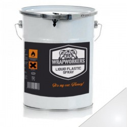 Pintura de vinil líquido Branco Brilho (4 litros)